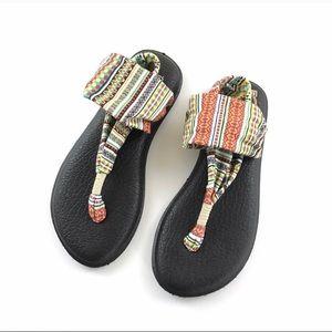 🎄$25 SALE🎄 SANUK Yoga Mat Sling Sandal 7